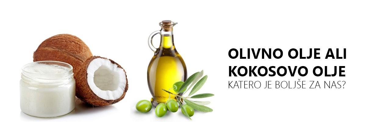 Olivno olje ali kokosovo olje?