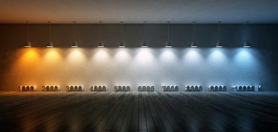 Najboljša svetloba za produktivnost